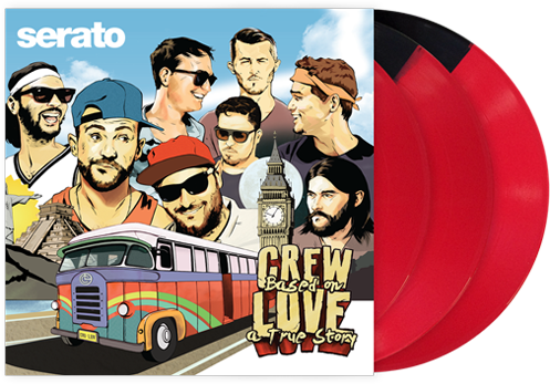 Crew Love's Based On A True Story Serato Pressing