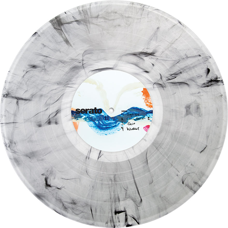Nick Hook's Collage V.1 Serato Pressing