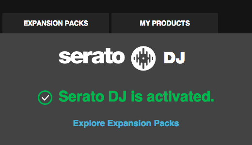 Activate Serato DJ or an Expansion Pack | Serato com