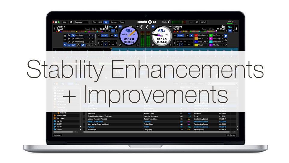 Stability Enhancements and Improvements