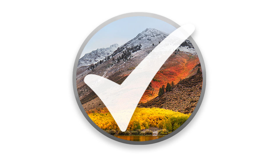 macOS High Sierra Support