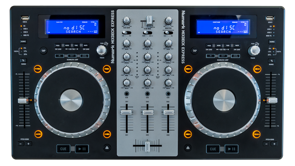 Numark Mixdeck Express Serato Compatible Dj Hardware