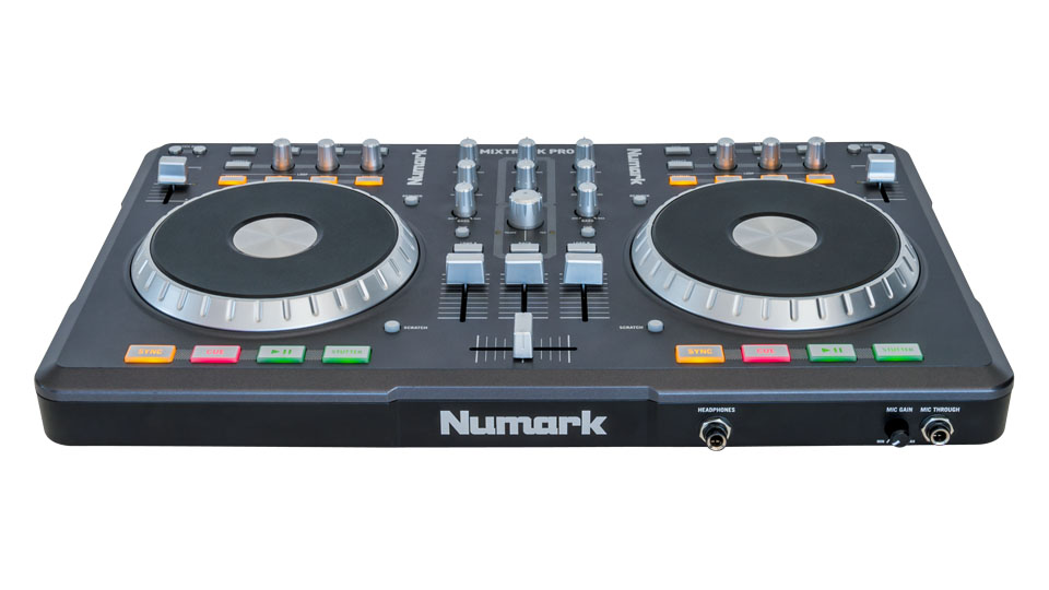 numark mixtrack pro serato compatible dj hardware serato com numark mixtrack pro