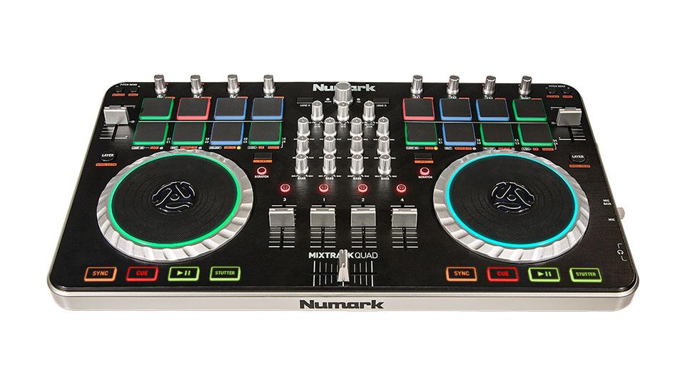 Numark MixtrackQuad
