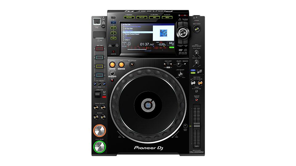 Pioneer DJ CDJ-2000NXS2