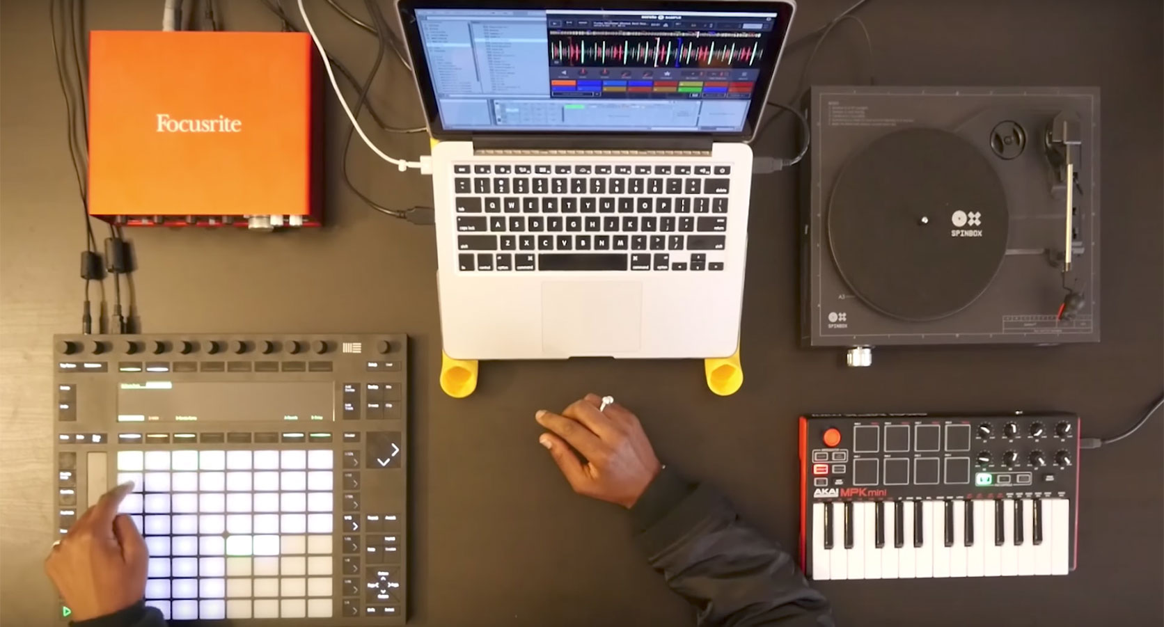 7. How to use Ableton Push with Serato Sample
