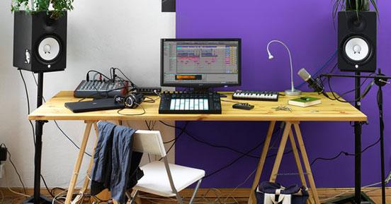Ableton in the studio
