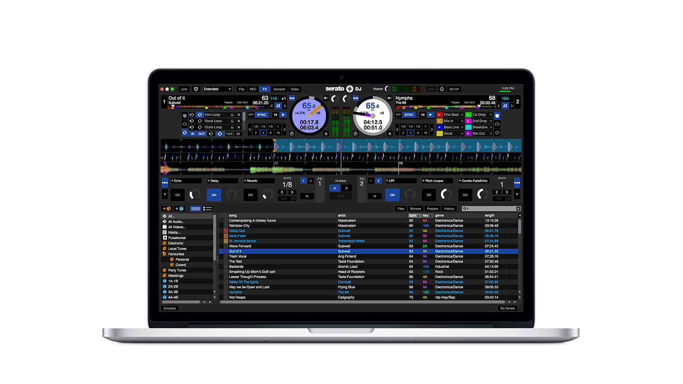 Serato DJ 1.9.6 Software