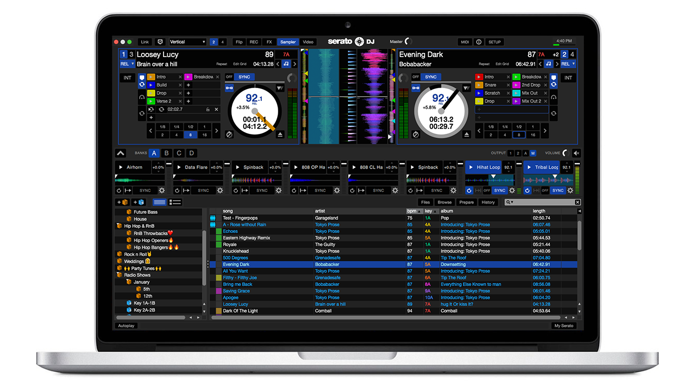 Serato DJ 1.9.8 Software