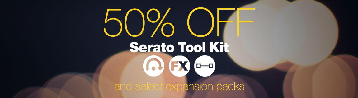 50% off Serato Tool Kit
