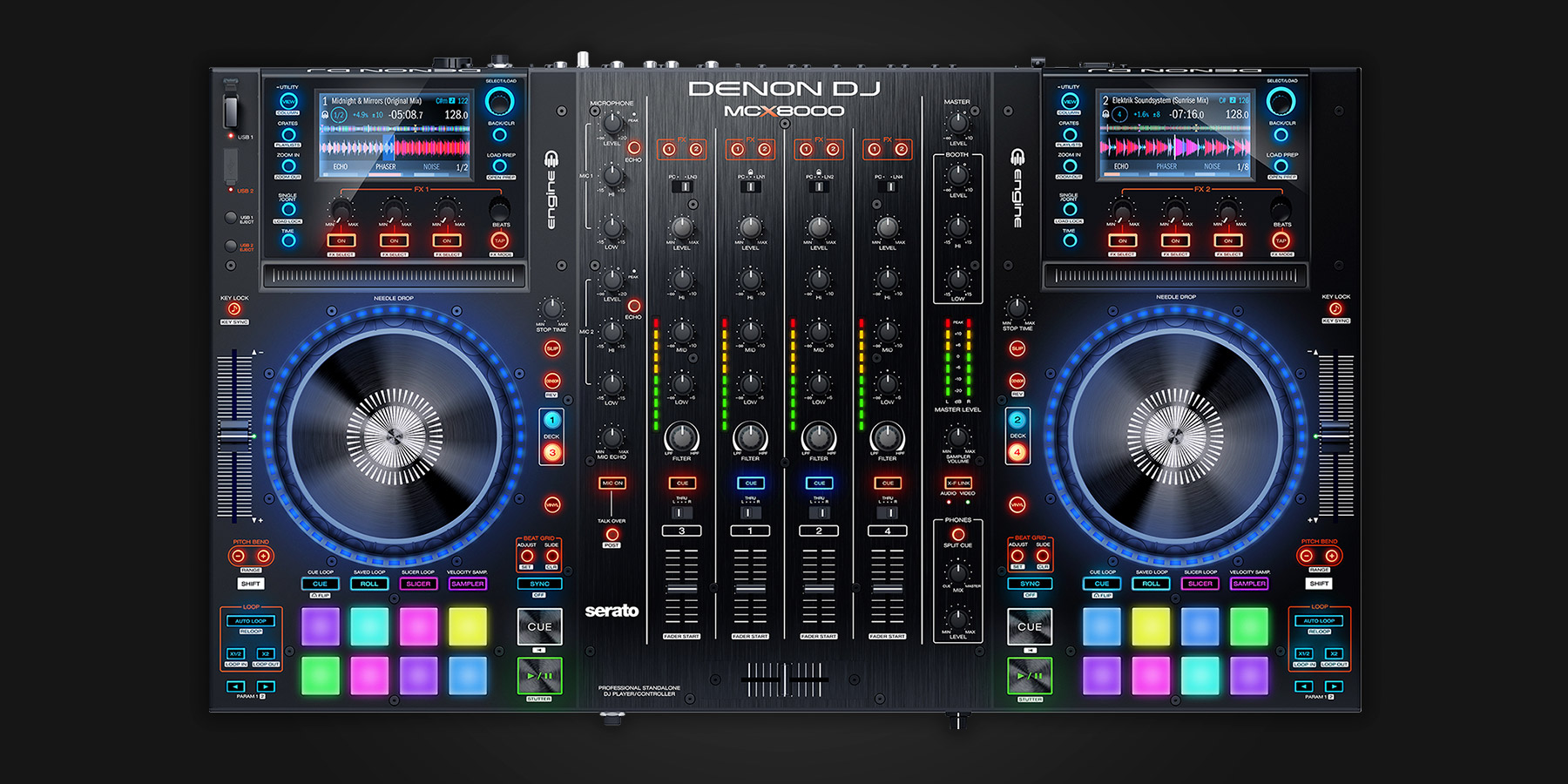 Denon Dj Mcx8000 Serato Dj Dj Hardware Learn More