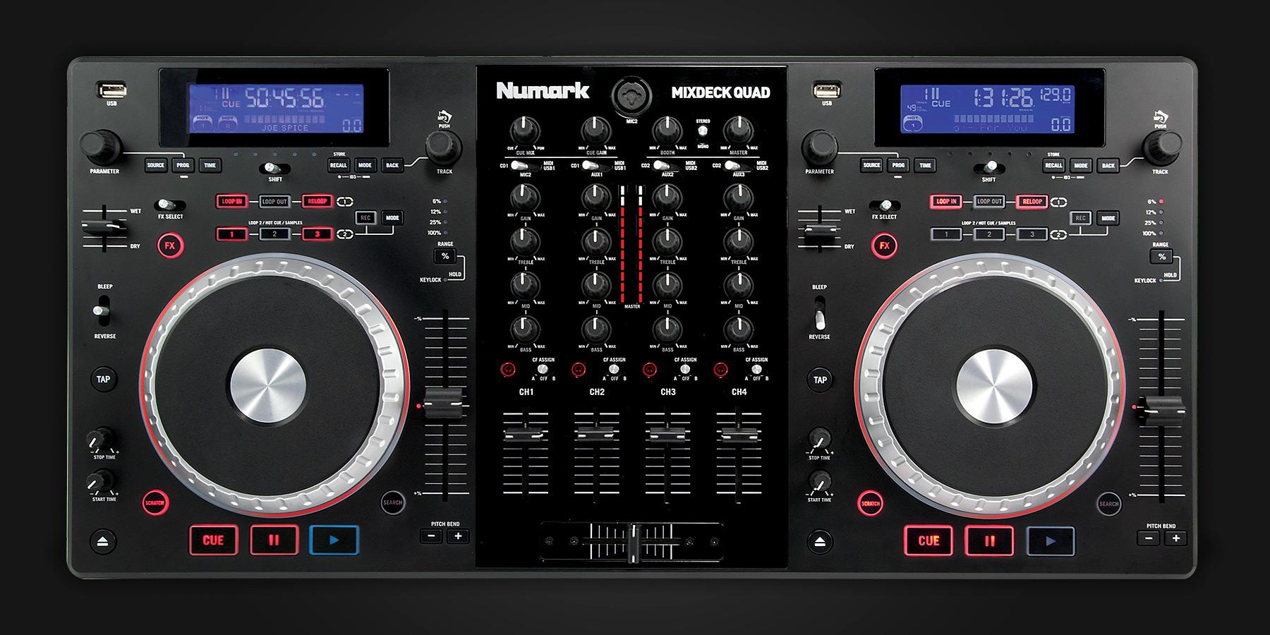 softwares numark mixdeck quad firmware update