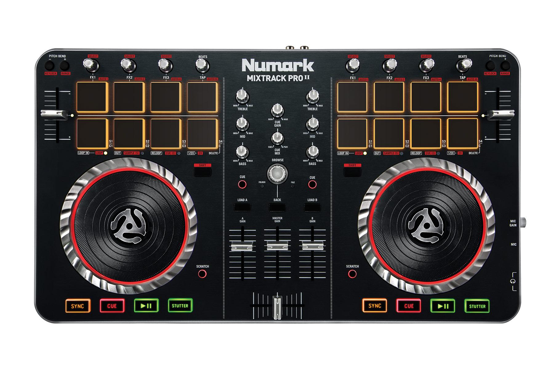 Numark Mixtrack Pro Ii Serato Dj Dj Hardware Learn