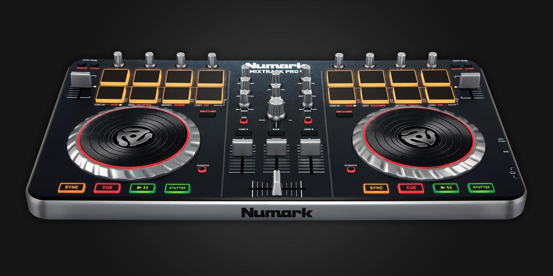 Numark Mixtrack Pro II - Serato DJ Hardware