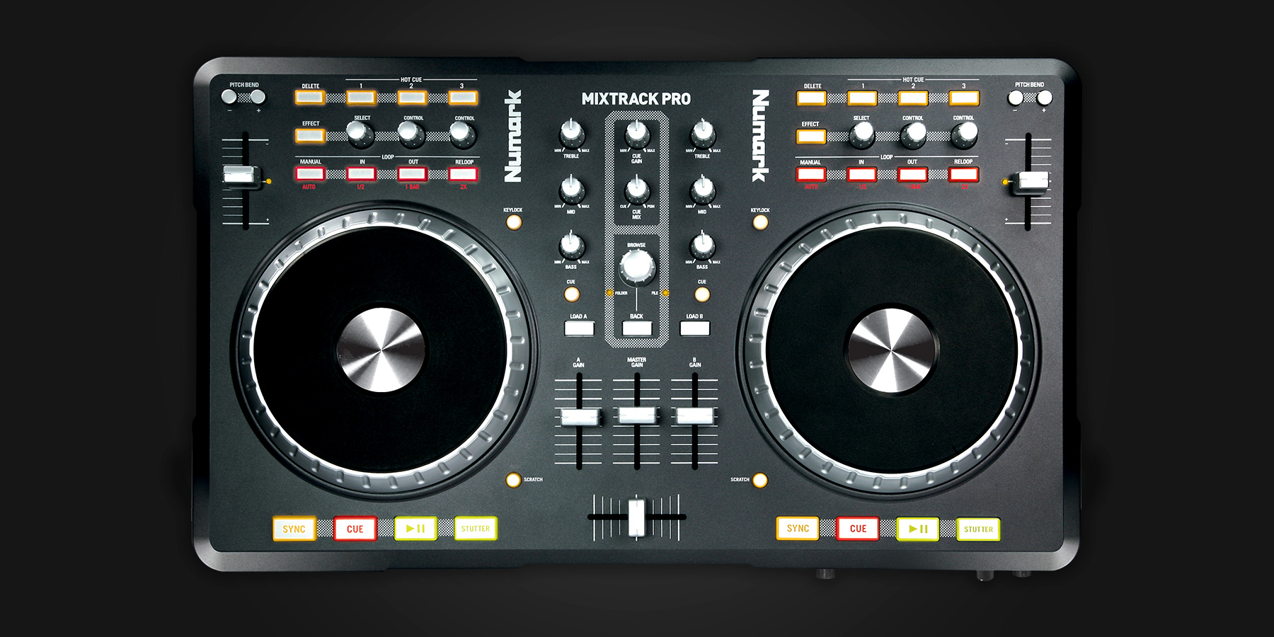 Numark Mixtrack Pro Serato Dj Dj Hardware Learn More