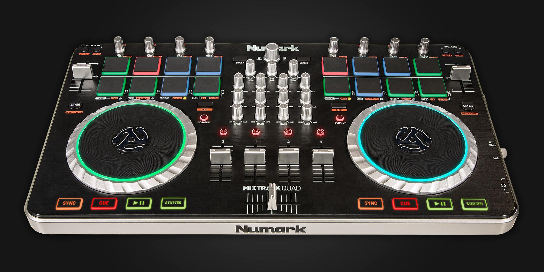 Numark Mixtrack Quad - Serato DJ Hardware
