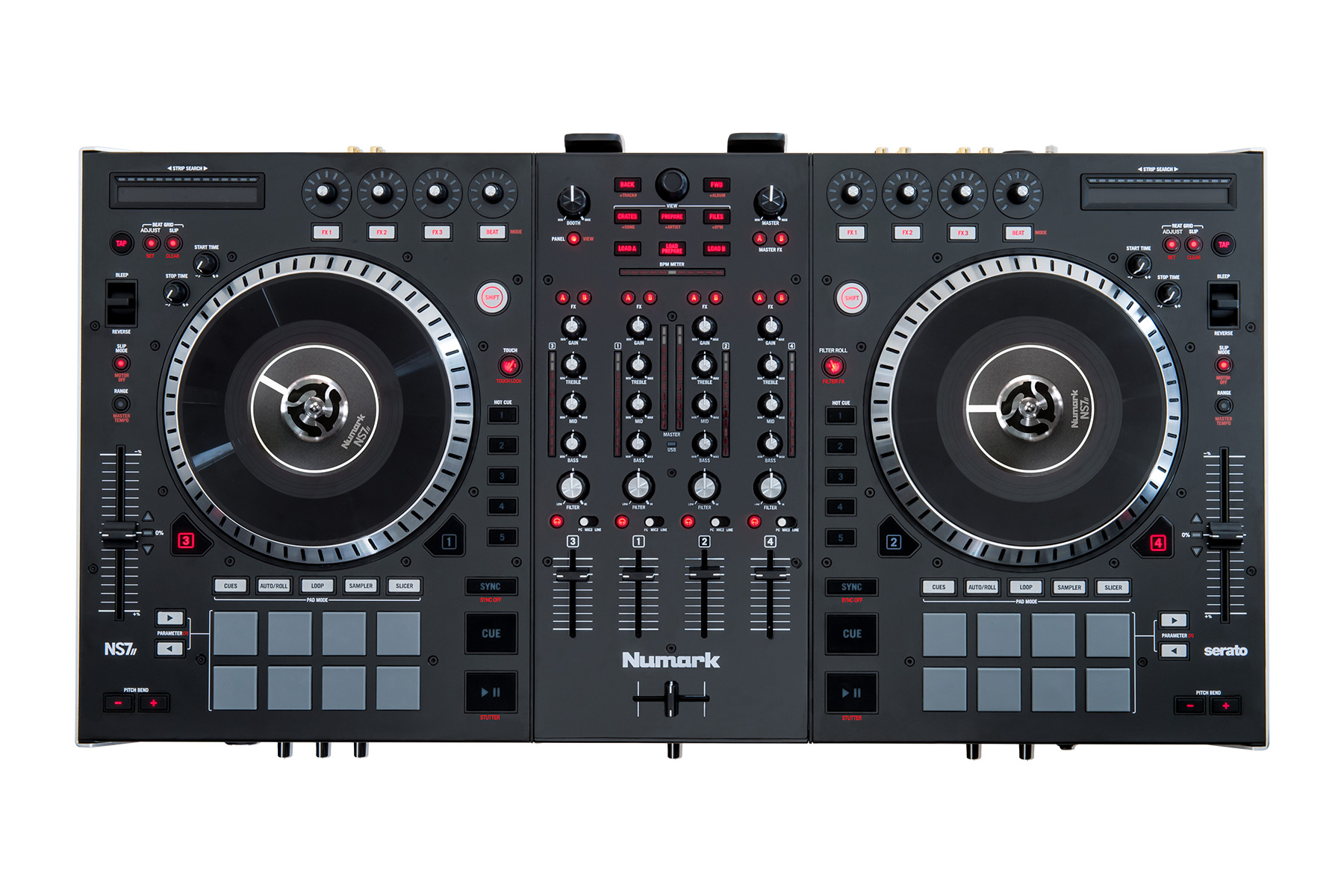 Numark Ns7 Ii Serato Dj Dj Hardware Learn More