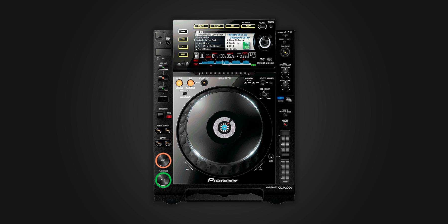 Pioneer DJ CDJ-2000 - Serato DJ Hardware