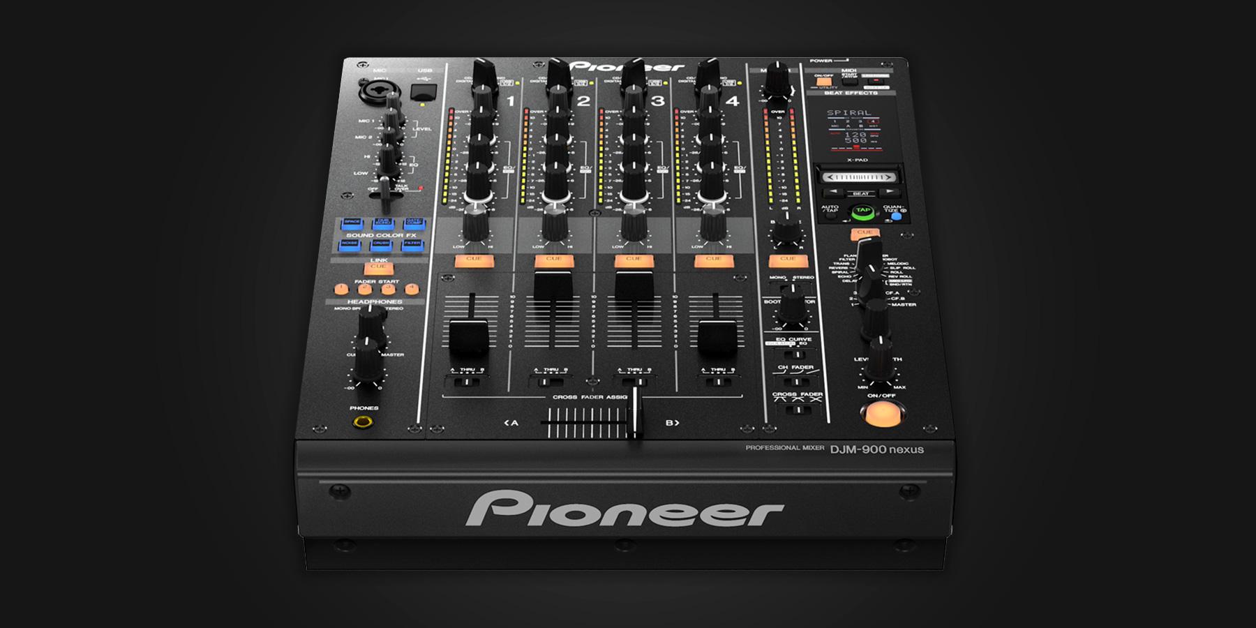 Pioneer Dj Djm 900nxs Serato Dj Dj Hardware Learn More