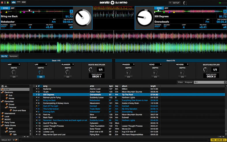Serato DJ Intro - Free DJ Software