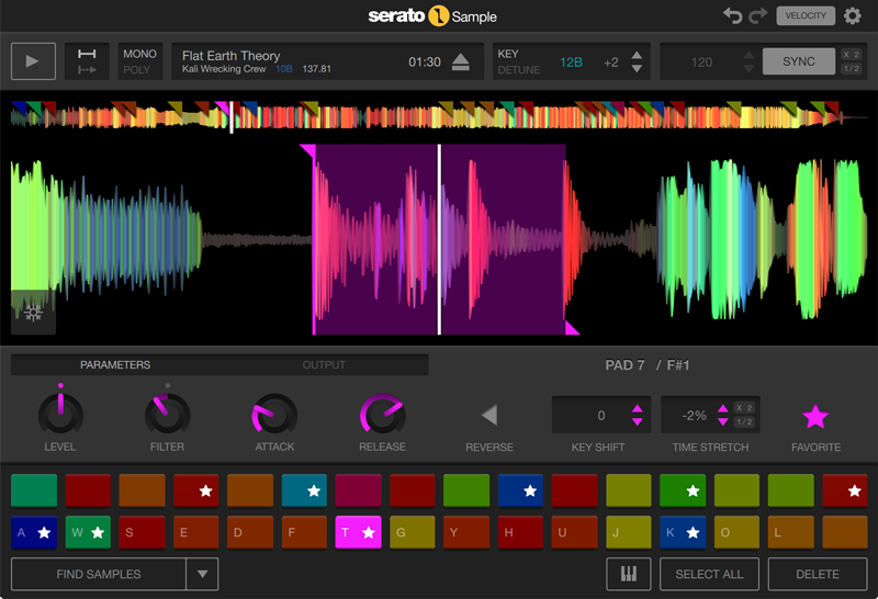 Serato Sample GUI